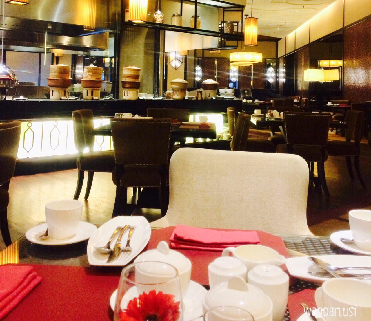 breakfast at majestic KL