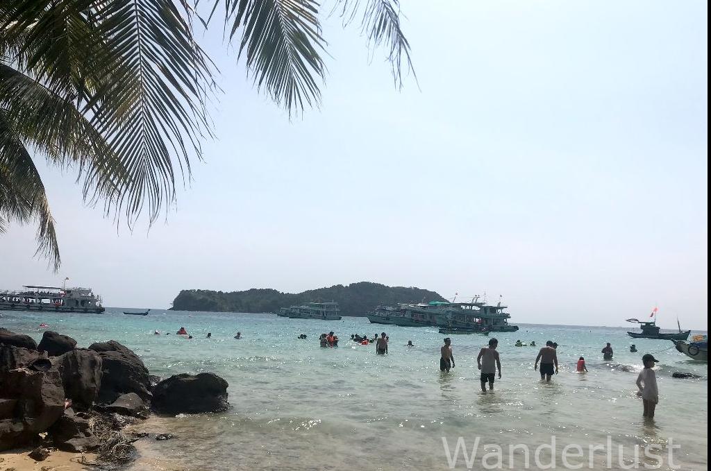 割と混んでる離島
